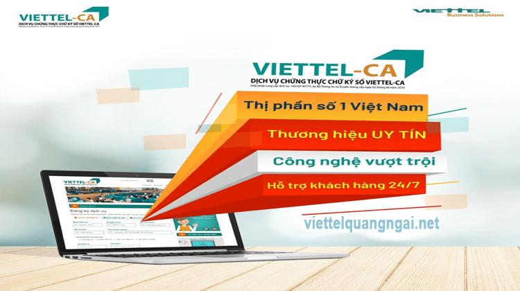 ứng dụng chữ ký số viettel ca