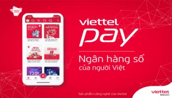 ứng dụng ngân hàng số viettel pay